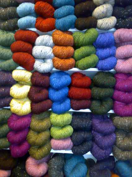 Click to enter the full selection of Aran Tweed Yarns!